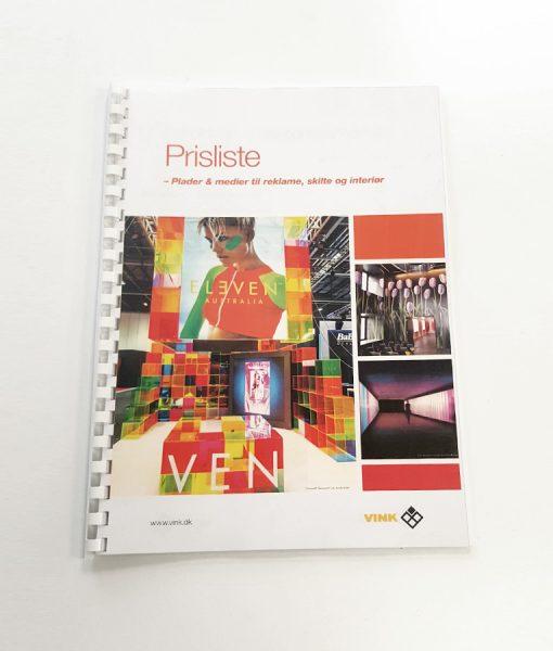 Digitalprint - plastspiralryg