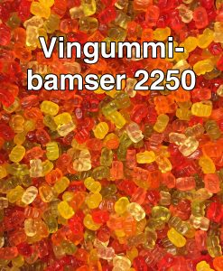 Vingummibamser 2250