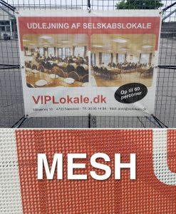 Banner print mesh