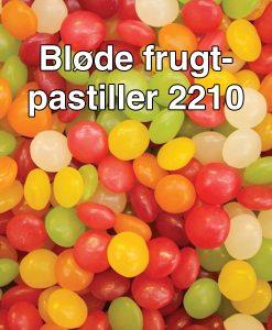 Bløde frugtpastiller 2210