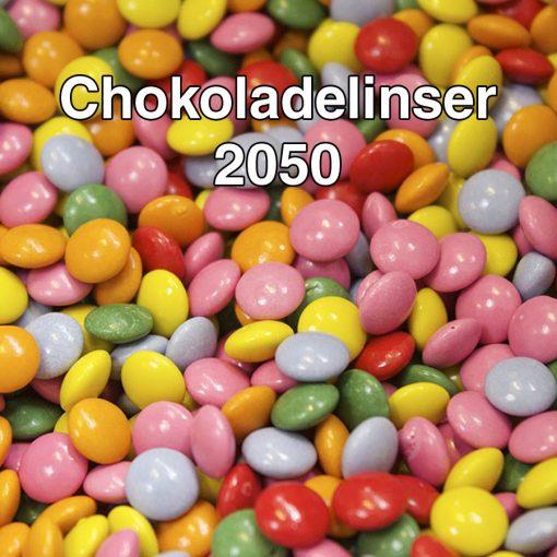 Chokoladelinser 2050