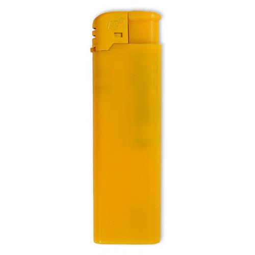 Gul FC Elektron lighter med tryk