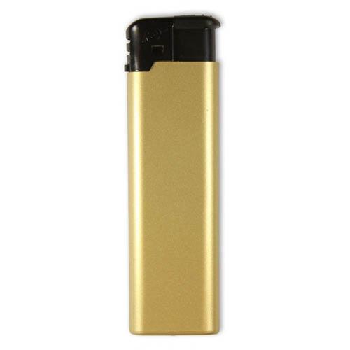 Guldfarvet FC Elektron lighter