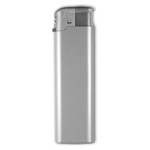 Sølvfarvet FC Elektron lighter