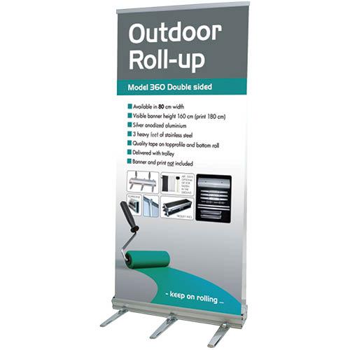 Udendørs roll-up produktbillede