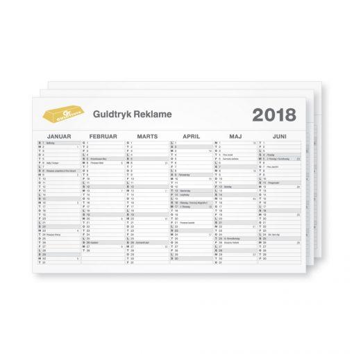 A1 Kalender vægkalender