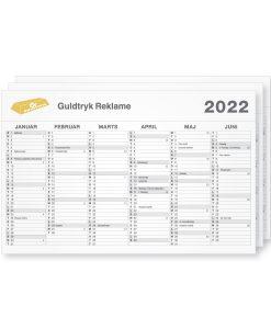 Tryk af A1 kalendere