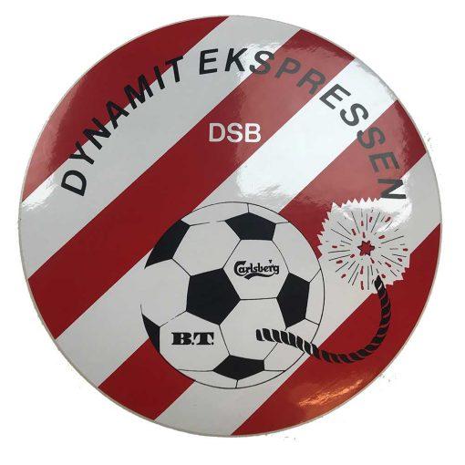 Klistermærker med fodbold logo