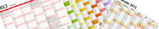 Tryk af kalendere