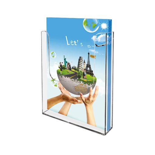 Brochureholder til væg