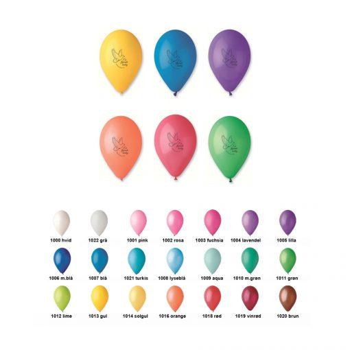 Balloner - Farver