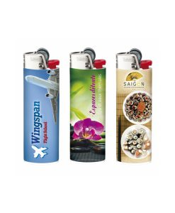 BIC J26 Digital Lighter med tryk