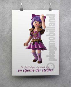 Plakat - Playmobil Viona - 1001