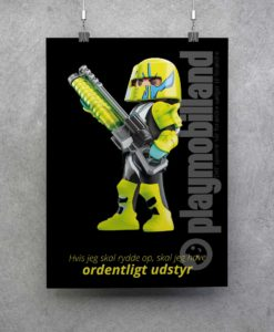 Plakat - Playmobil Space - 2001