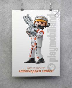 Plakat - Playmobil Topagent - 1001