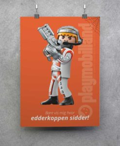 Plakat - Playmobil Topagent - 2001