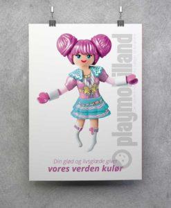 Plakat - Playmobil Rosalee - 1001