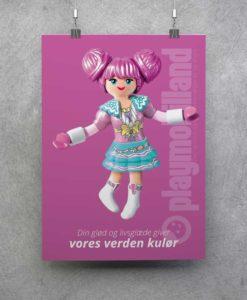 Plakat - Playmobil Rosalee - 2001